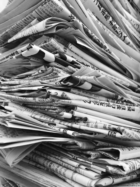 ニュースレターの原稿を作るときに新聞を参考にすると良い理由